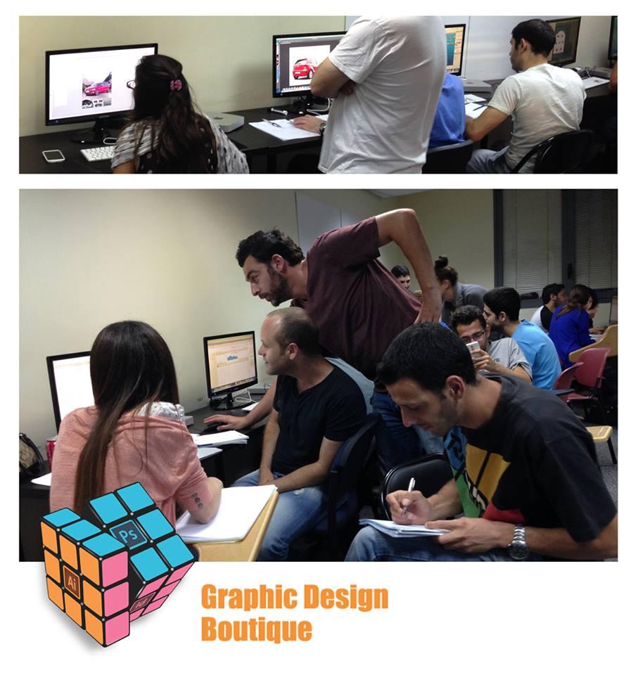 לימודי התוכנות הגרפיות (Photoshop, Illustrator, InDesign) בשילוב עם עקרונות העיצוב הגרפי